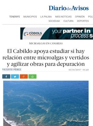 Noticia completa en http://diariodeavisos.elespanol.com/2017/10/cabildo-apoya-estudiar-relacion-microalgas-vertidos-agilizar-obras-depuracion/