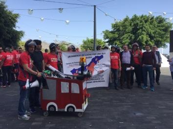 apoyo grupo podemos cabildo tenerife reinvindicaciones huelga bomberos tenerife (febrero 2017),