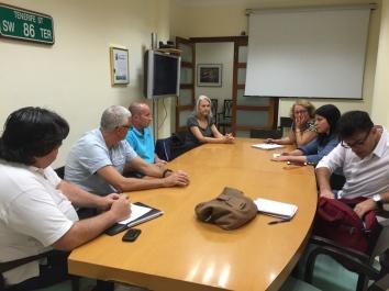 eunion coodinacion podemos cabildo tenerife y representantantes plataforma defensa sanidad publica tenerife (mayo 2016)