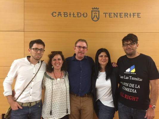 grupo insular podemos cabildo tenerife (mayo 2017)