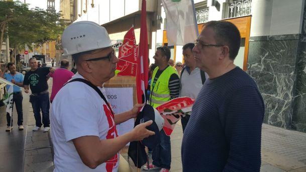 protesta tragsa en tenerife, 26.01.16