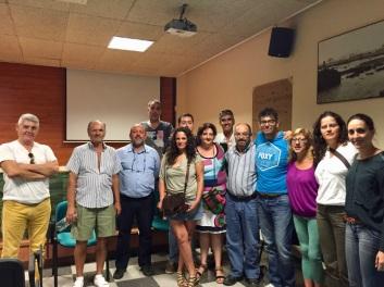 reunion coordinacion en defensa hospital publico del sur, con colectivos sociales y circulos tenerife sur (2015, los cristianos)