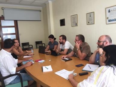 reunion coordinacion grupo insular podemos cabildo tenerife y grupo parlamentario podemos canarias (julio 2017)
