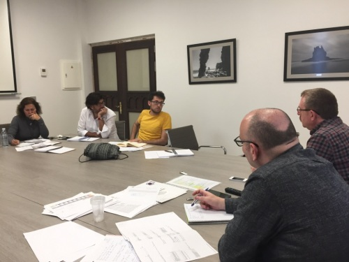 reunion coordinacion grupo insular podemos tenerife en cabildo (marzo 2017)