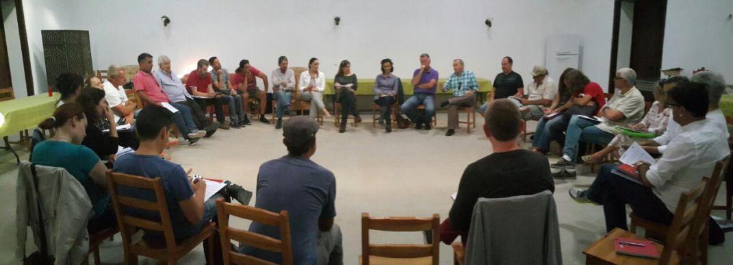 reunion coordinacion grupo podemos cabildo tenerife, grupo podemos parlamento canarias, con colectivos, circulos y politicos izquierda tenerife sur (mayo 2016),