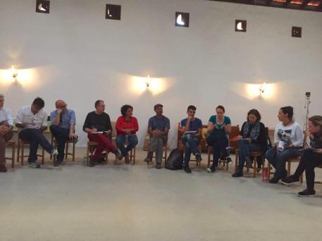 reunion coordinacion grupo podemos cabildo tenerife, grupo podemos parlamento canarias, con colectivos, circulos y politicos izquierda tenerife sur (mayo 2016)