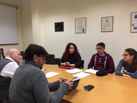 reunion podemos cabildo tenerife y representacion sindical juvenil en defensa abono transporte (enero 2017)
