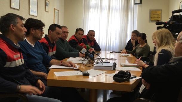 rueda prensa bomberos tenerife y grupo insular podemos cabildo (febrero 2017)