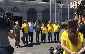 rueda prensa plataforma pensiones tenerife y grupo insular podemos tenerife, cabildo (2018)