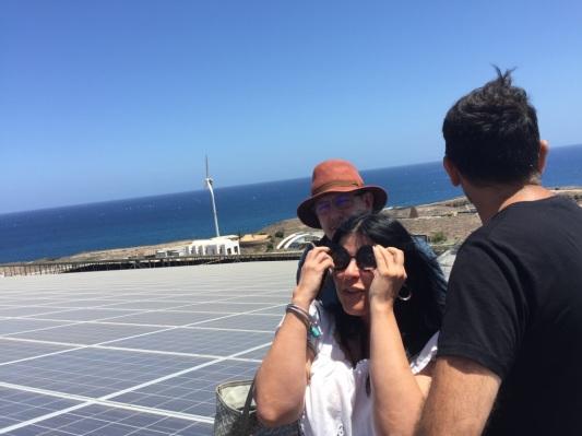visita iter grupo podemos cabildo tenerife (julio 2017)